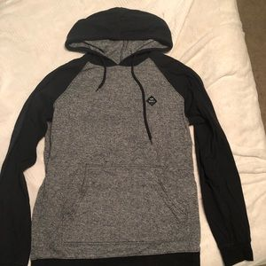 RVCA Two Tone Hoodie Sweatshirt
